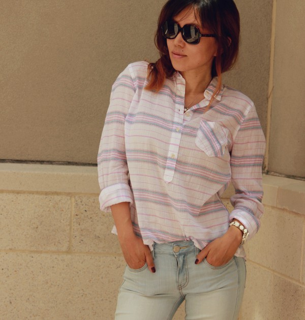Easy Breezy Button Front Shirt