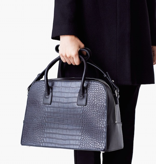 Budget Find: Croc-Effect Tote Bag
