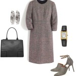 Tweed Dress Outfit for the Office