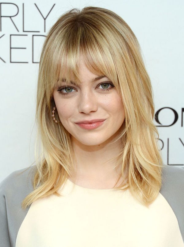 Bangs With Shoulder Length Hairstyle : Shoulder length hairstyle inspirations for workchic