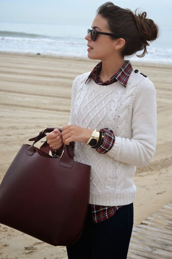 how to style sweaters