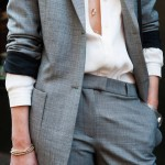 Gray Suits for Stylish Career Women