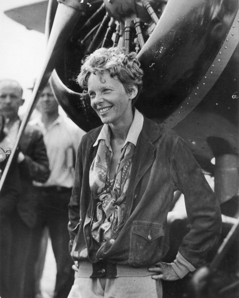 amelia earhart inspirational icon