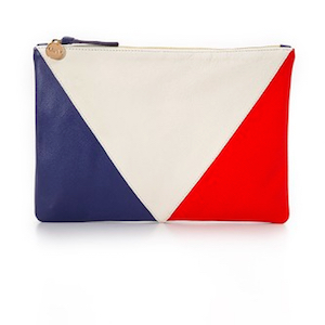 red white blue clutch