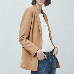 women's pocket blazer