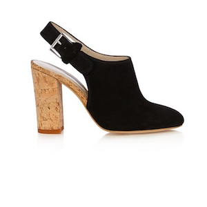 slingback ankle boots