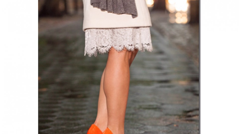 Time for Some Chic Orange Pumps