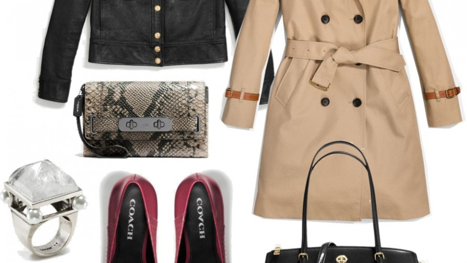 Major Fall Fashion Items from Coach