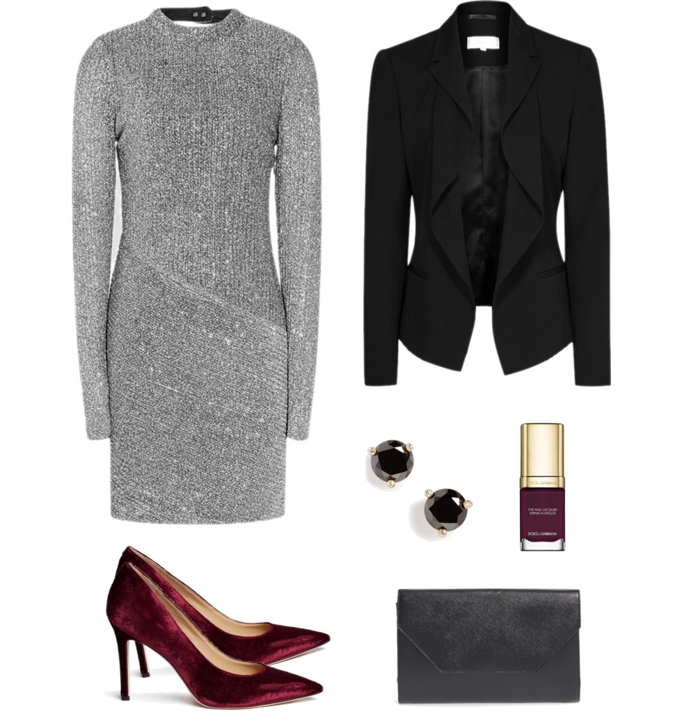 christmas office party outfit