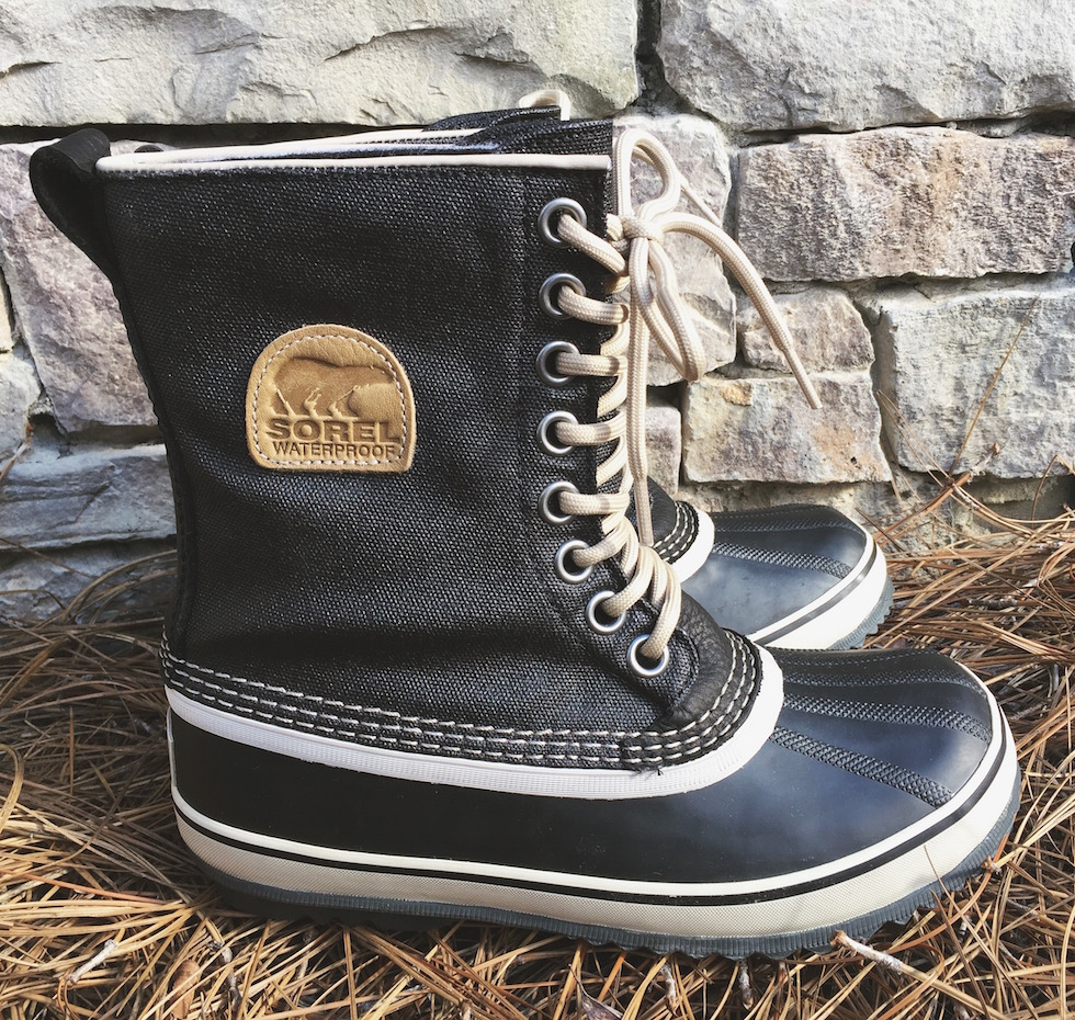 sorel waterproof canvas boots review