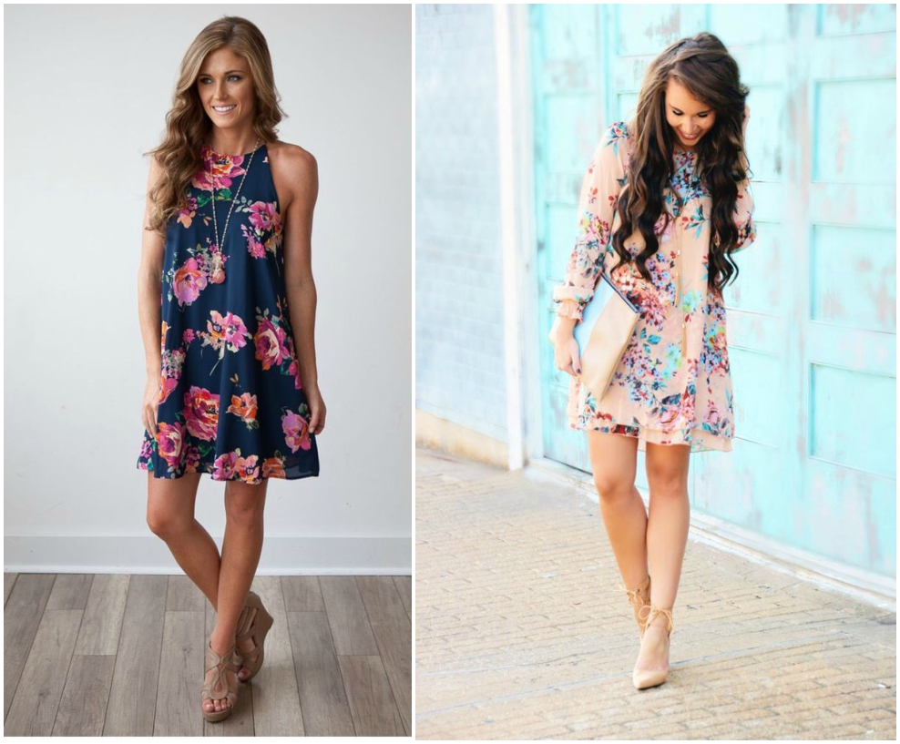 floral fashion trends 2017