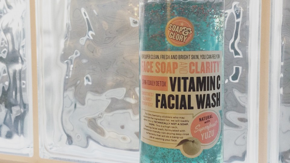 Best of Drugstore Beauty Buys – Vitamin C Facial Wash