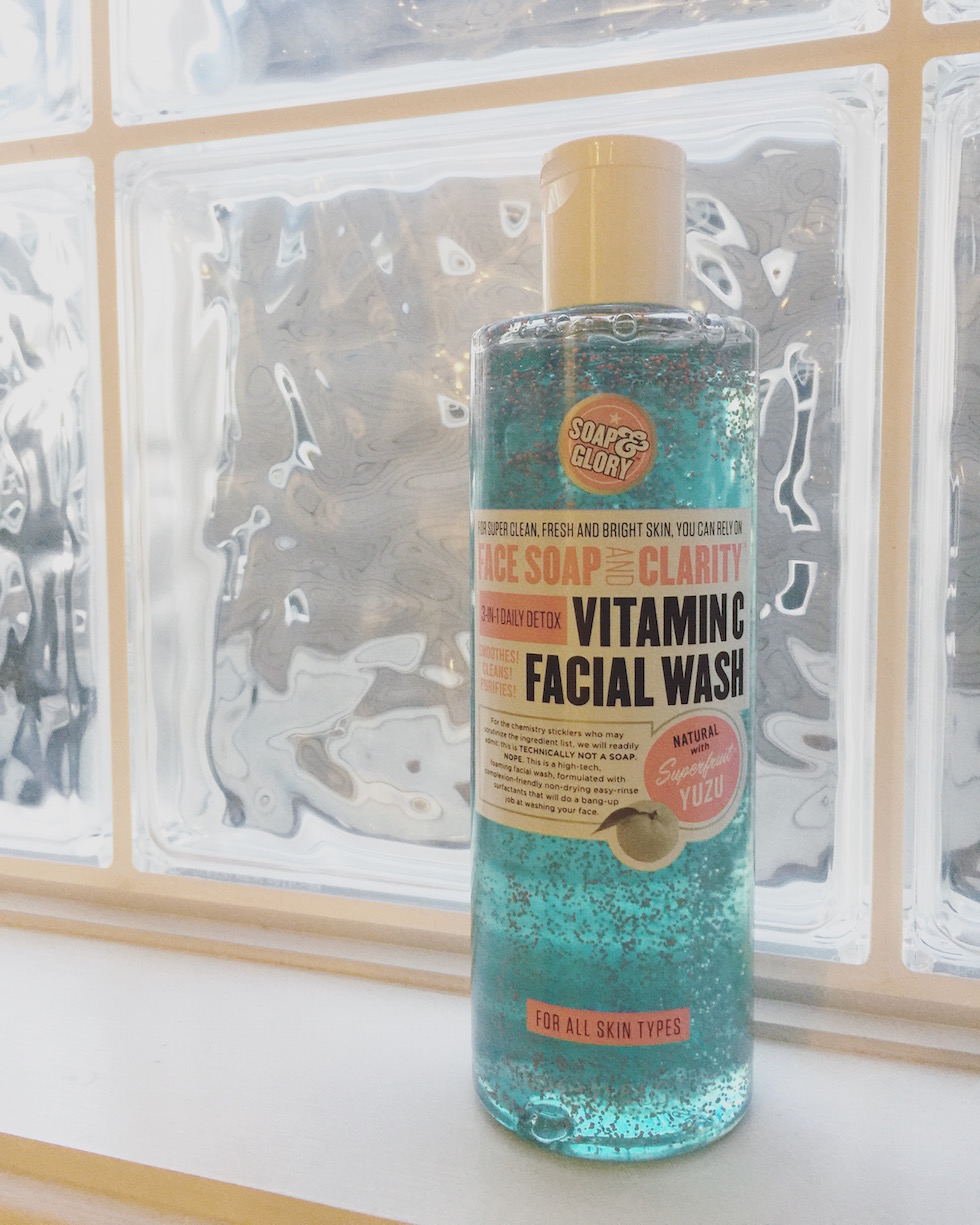 soap n glory facial wash review