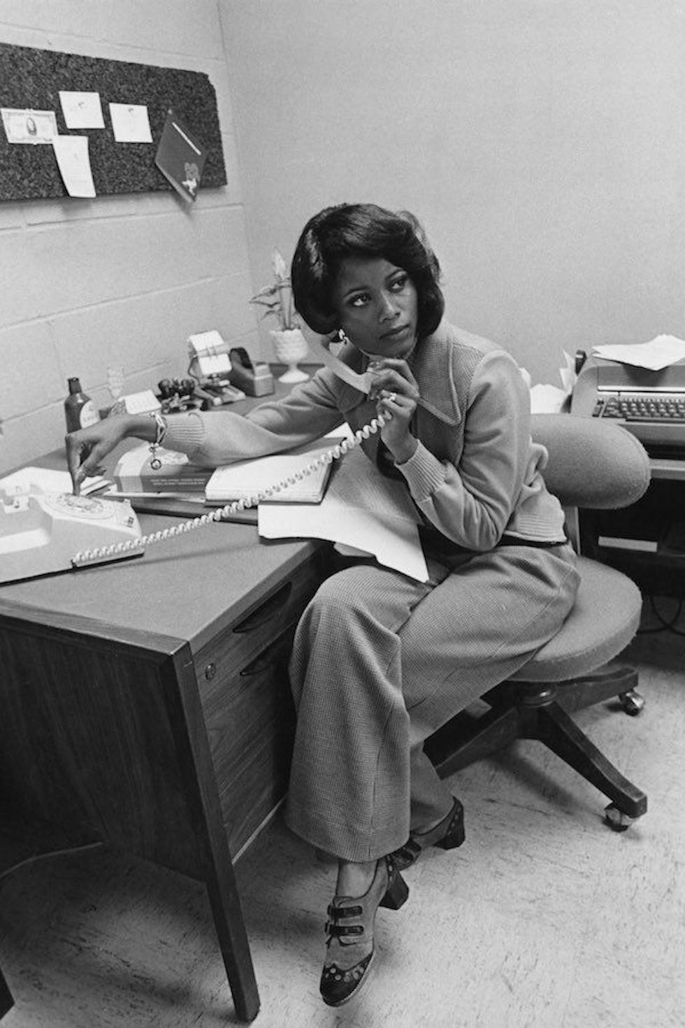 Stylish Office Work Outfit From The 70s WorkChic