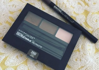 maybelline eyebrow makeup review