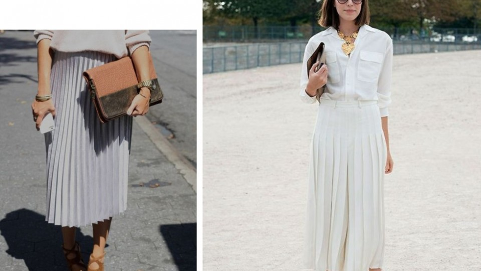 What's WorkChic – Pleated Skirts