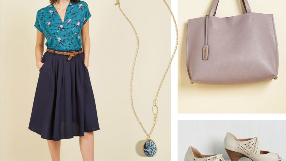 Go-To Midi Skirt for the Office and More