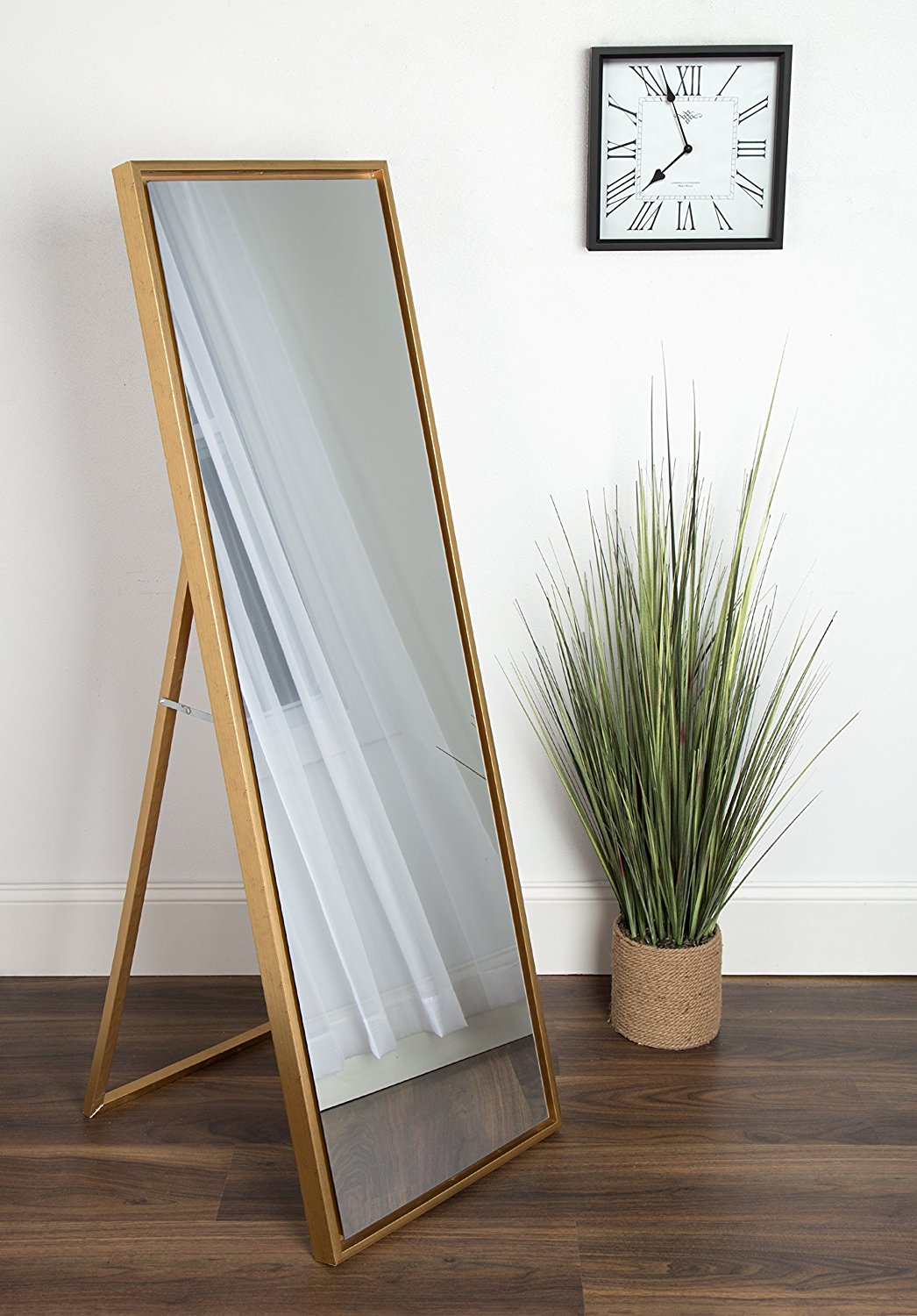 Full Length Mirror with Easel Stand | WorkChic