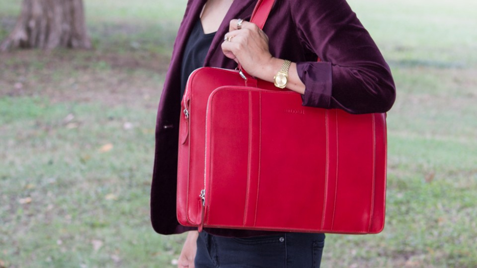 Stylish & Functional Briefcase to Carry This Fall
