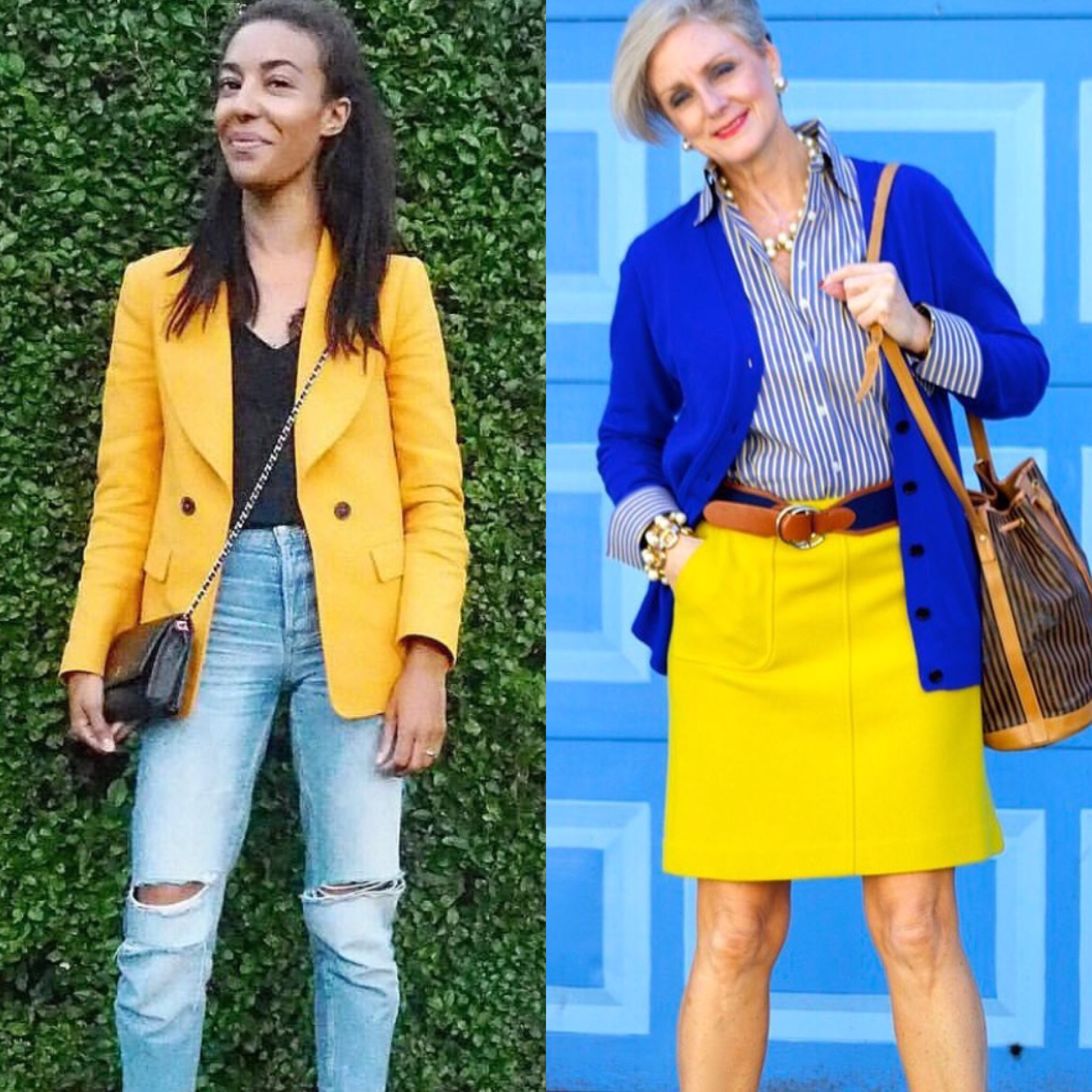 how to style yellow color