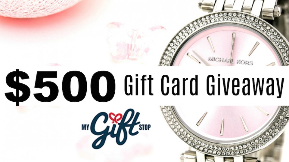 Win $500 Gift Card ~ Valentine's Day Giveaway from My Gift Stop