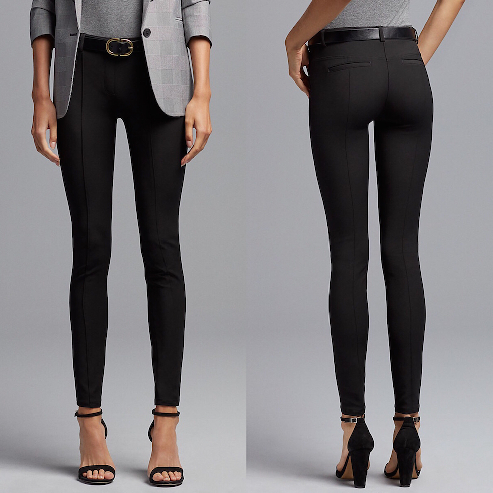 black office pants womens