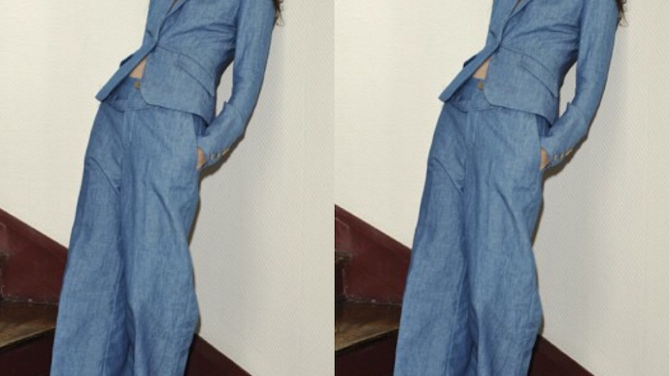 Would You Wear a Denim Suit to Work?