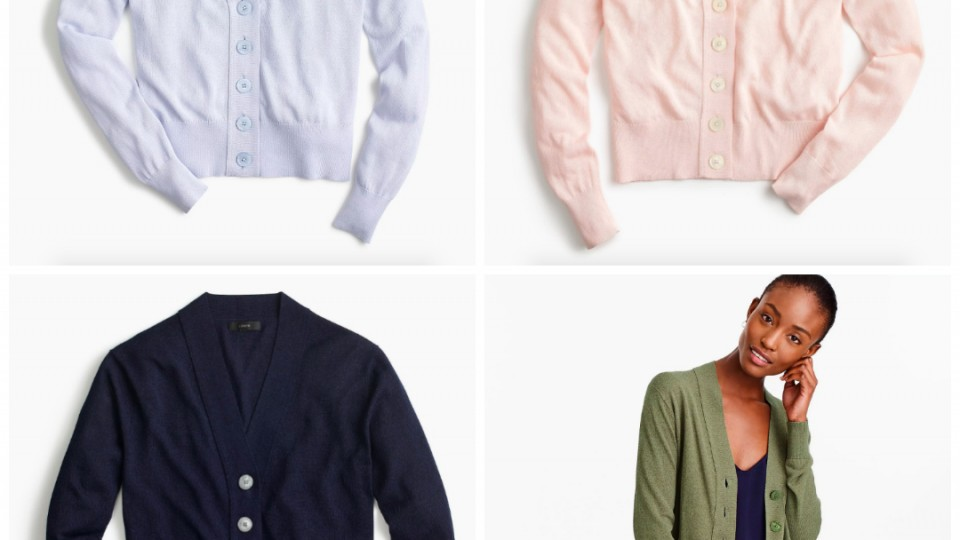 #Obsessed: Cropped Button Cardigans