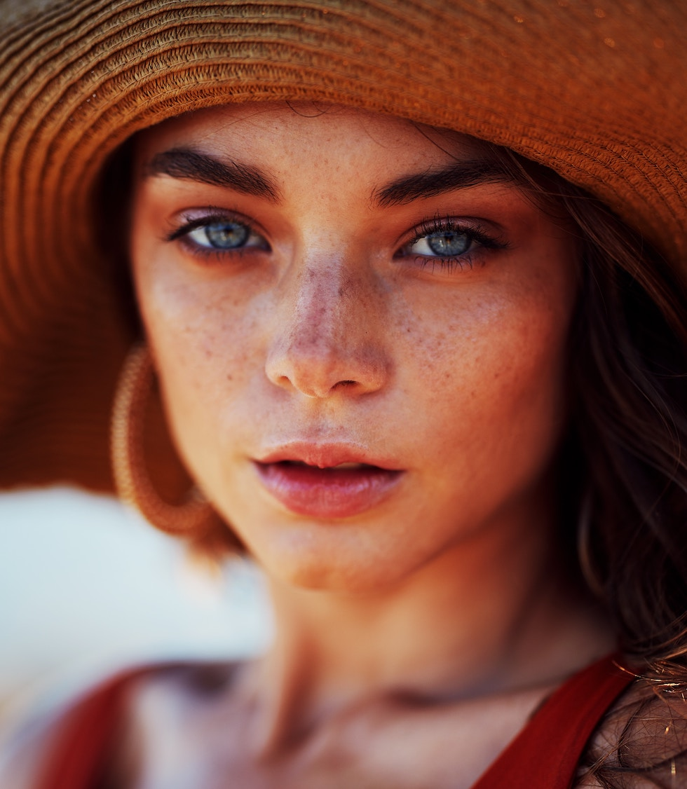 glowing summer skin