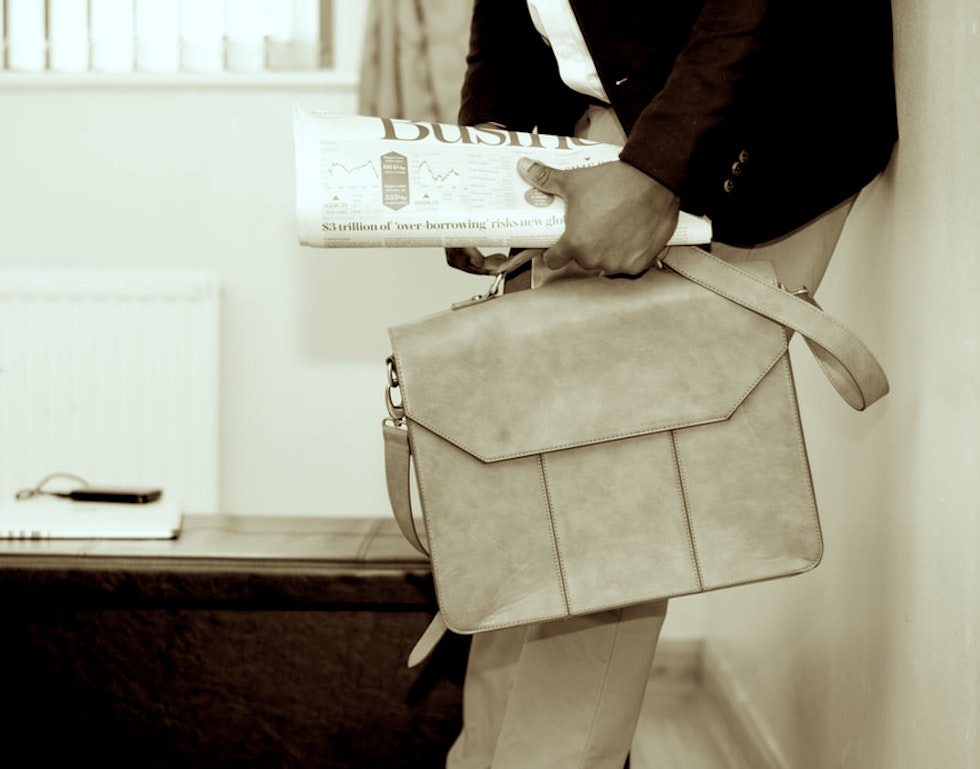 stylish briefcases