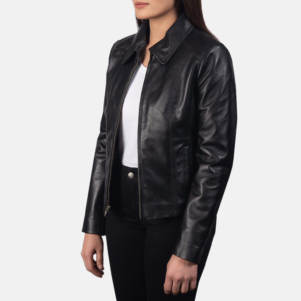 black leather biker jackets