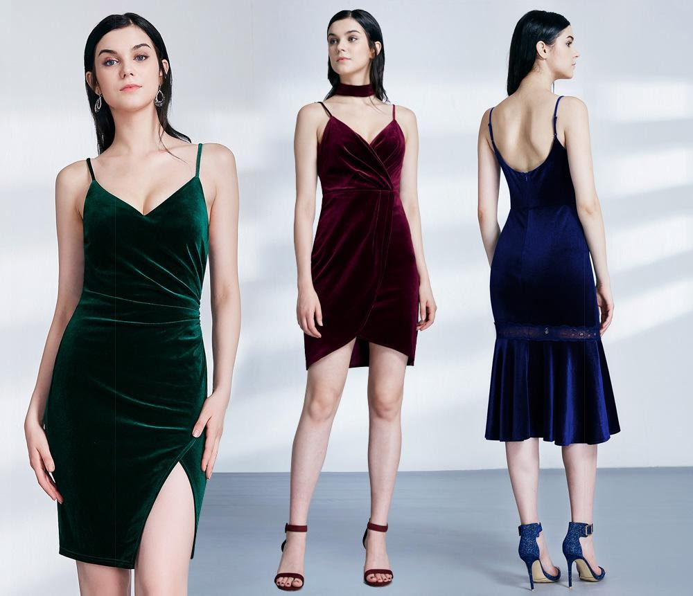 minimal party dresses