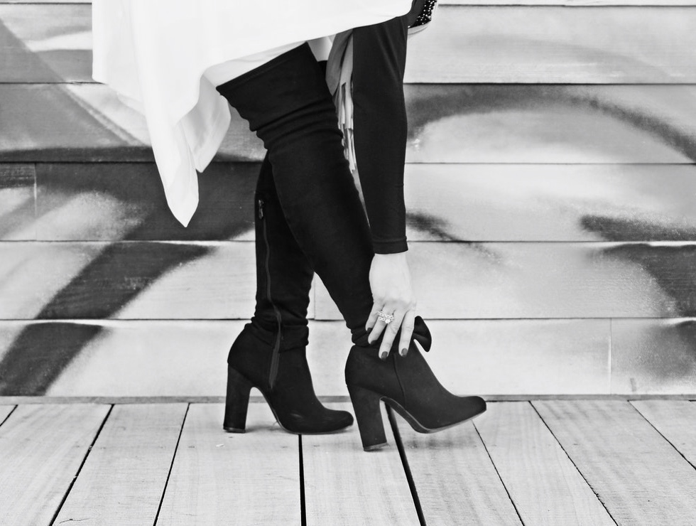 how to wear tall boots