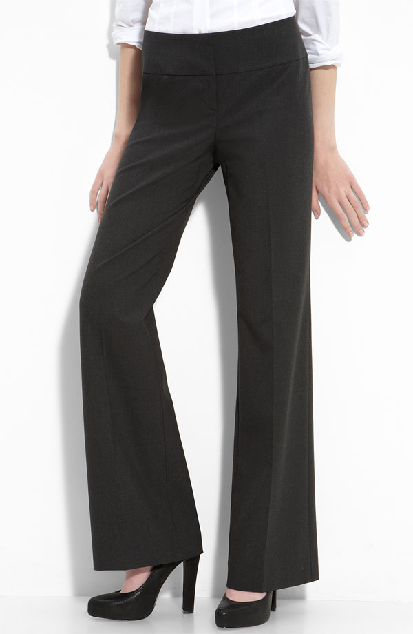 Halogen 'Taylor' Wide Leg Trousers